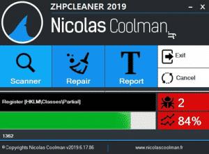ZHPCleanerInterface ZoneAntimalware 300x221 - Tutoriel ZHPCleaner (Officiel)