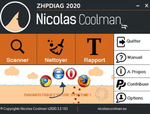 Description des modules de ZHPDiag