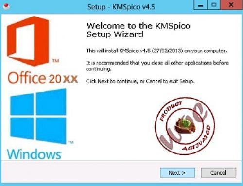KMSpico est un activateur de licence Microsoft.