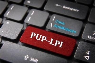 Powzip software potenzialmente indesiderato pup lpi . zona