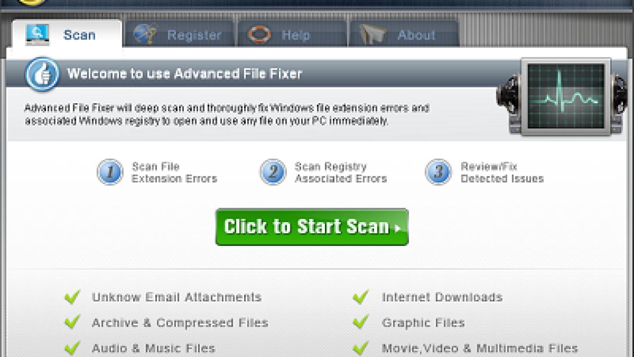 AdvancedFileFixer, Potentially Unnecessary Software - Zone