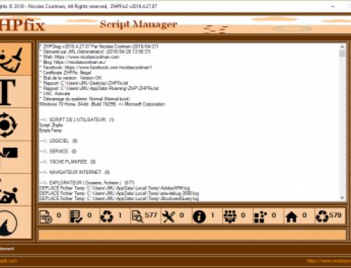 ZHPFix, Script Manager