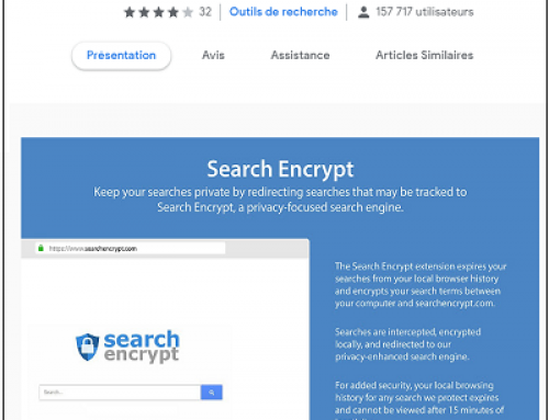 Search Encrypt, Logiciel Potentiellement Superflu.