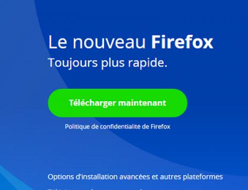 Firefox va détecter la présence des sites endommagés.