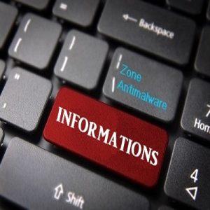 Information sur les éléments détectés