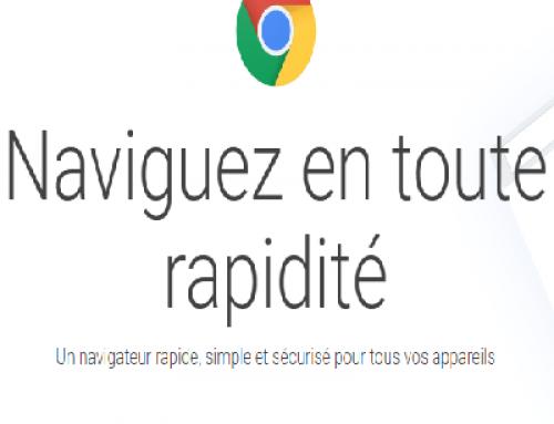 Google Chrome permet la connexion directe à un mot ou à une phrase.
