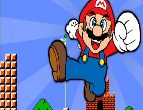 Une image Mario Bros télécharge le rançongiciel GandCrab.
