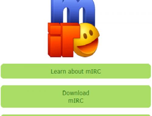 Faille découverte dans l'application mIRC.