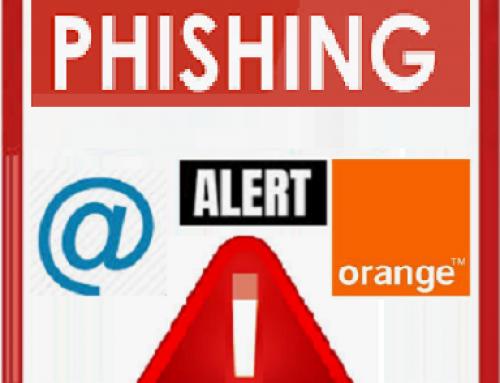 Alerte, Nouvelle compagne de phishing sur la messagerie Orange