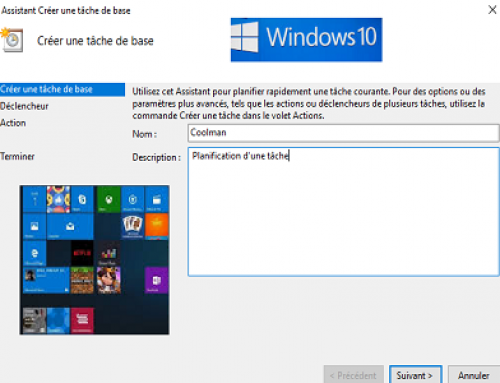 Découverte d'une vulnérabilité dans le planificateur de tâches de Windows 10.