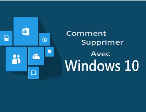 Réparer ou supprimer des programmes dans Windows10