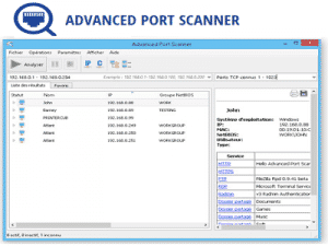 AdvancedPortScanner ZAM 300x225 - Téléchargez Advanced Port Scanner (Gratuit)
