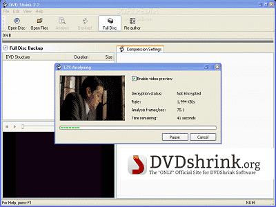 Téléchargez DVD Shrink (Gratuit)