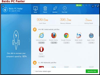 Téléchargez Baidu PC Faster (Gratuit)