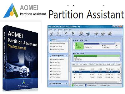 PartitionAssistant AOMEI ZAM - AOMEI Partition Assistant (Gratuit)