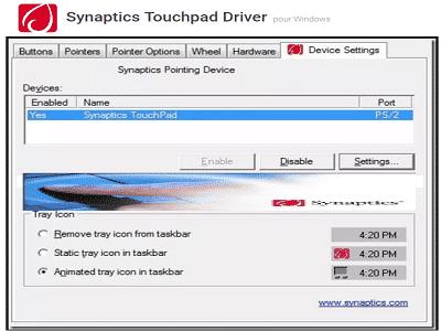 Téléchargez Synaptics TouchPad Driver (Gratuit)