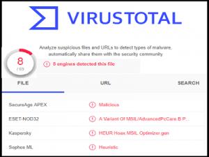 VirusTotal ZAM 300x225 - VirusTotal Service (Gratuit)