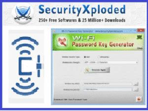 WIFIKeyGenerator SecurtyXploded ZAM 300x225 - Téléchargez WIFI Password Key Generator (Gratuit)