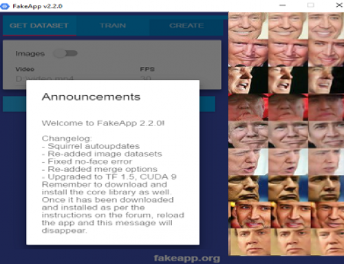 FakeApp, Technology based on Artificial Intelligence