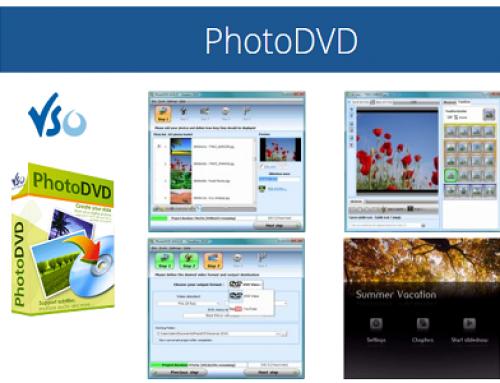VSO PhotoDVD, multimedia software