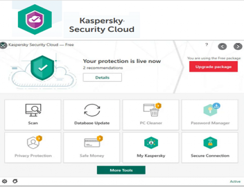 Kaspersky Security Cloud Free (Gratuit)