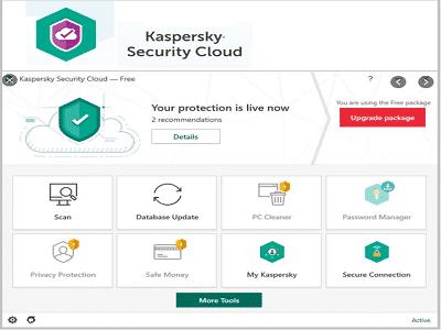 KasperskySecurityCloud ZAM - Kaspersky Security Cloud Free (Gratuit)