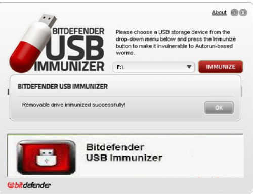 USB Immunizer, protective software.