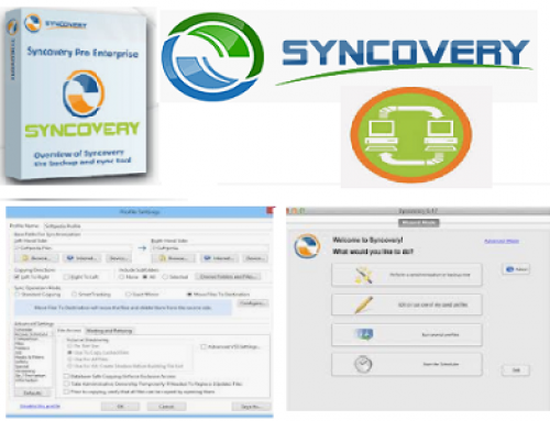 Syncovery, backup utility