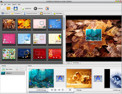 Slideshow Studio, multimedia software.