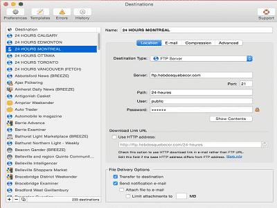 Deliver Xetrix ZAM - Deliver, Gestionnaire de messagerie.