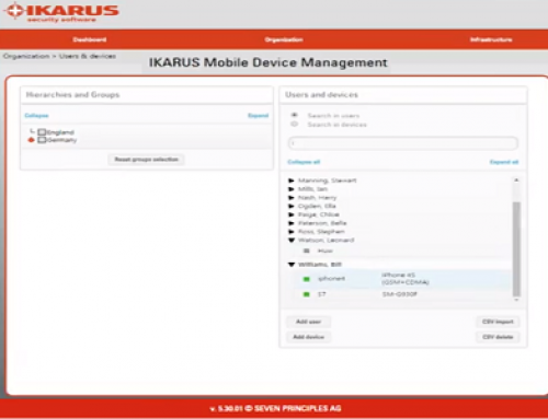 Ikarus Mobile Management