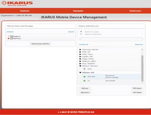 Ikarus Mobile Management