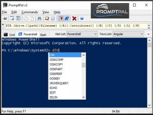 PromptPal ZAM 300x225 - PromptPal, Utilitaire de ligne de commande