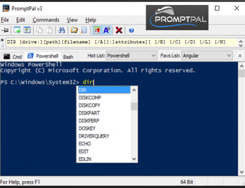 PromptPal, Control line utility
