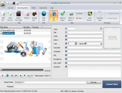 Soft4Boost Audio Converter, Logiciel multimédia