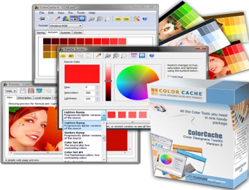 ColorCache, Utilitaire de conception