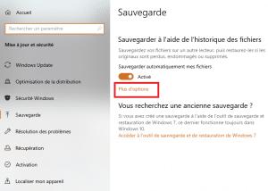 W10 Historique Sauvegarde PlusOptions 04 300x214 - Comment utiliser l'historique de Windows 10 comme sauvegarde ?