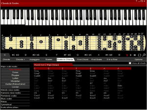 Chords Scales ZAM 300x225 - The Chords & Scales, Logiciel mixage audio