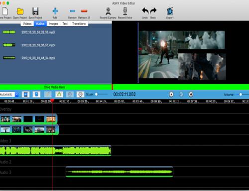 AGFX Video Editor