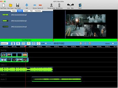 AGFXVideoEditor PCWinSoft ZAM - AGFX Video Editor
