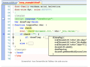 HippoEdit ORAMY ZAM 300x225 - HippoEdit, Editeur de code