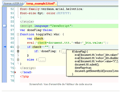 HippoEdit ORAMY ZAM - HippoEdit, Editeur de code