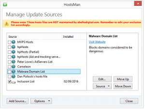 Hostsman ZAM 300x225 - Hostsman, Gestion du fichier Hosts
