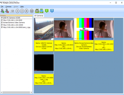 IP Camera Multiple Viewer