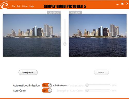 Simply Good Pictures, Logiciel Photo
