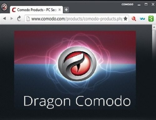 Comodo Dragon, Navigateur Web