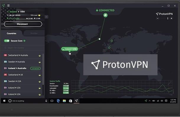 ProtonVPN ZAM - ProtonVPN, VPN illimité (Gratuit)