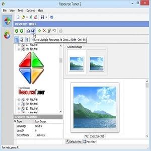 ResourceTuner - Resource Tuner, éditeur de ressources