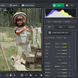 PhotoGlory2 ZAM - PhotoGlory, Logiciel de restauration