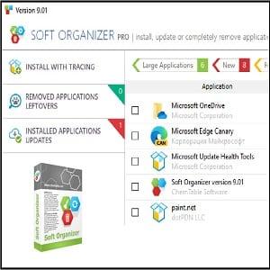 Soft Organizer ZAM - Soft Organizer (Gratuit)